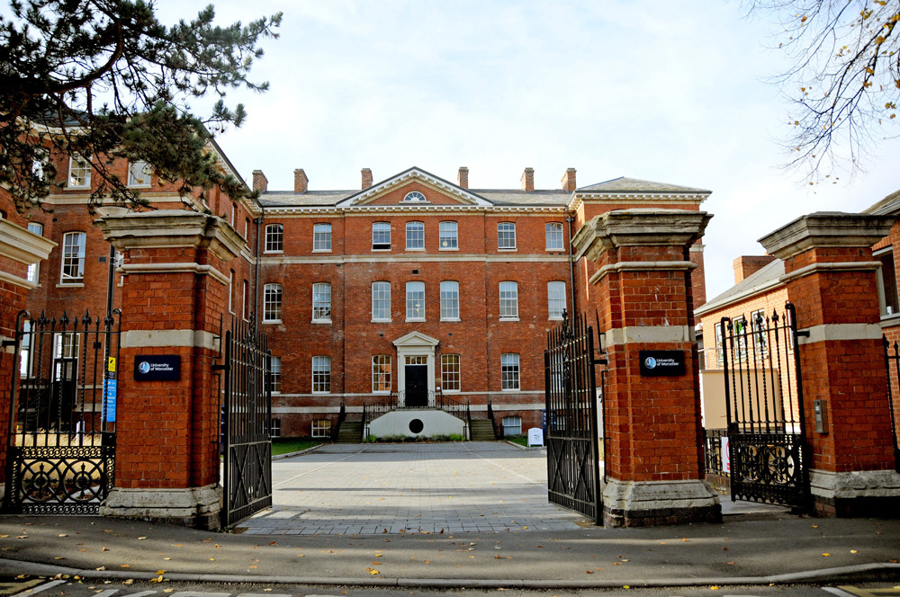 university of Worcester campus gate